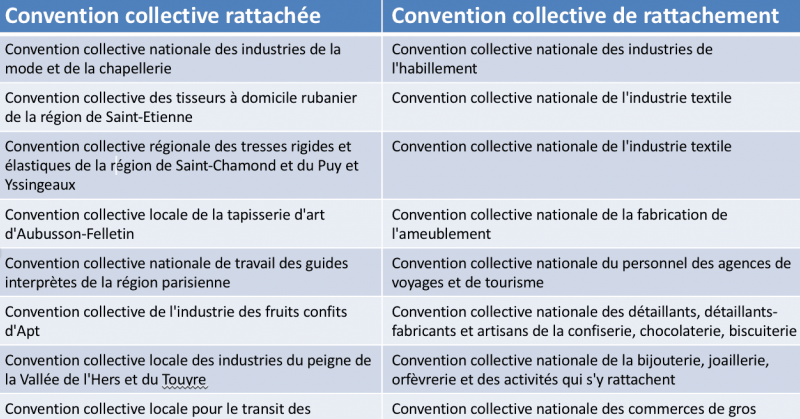Rapport Ramain Conventions Collectives